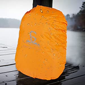 Quad Backpack Rain Cover