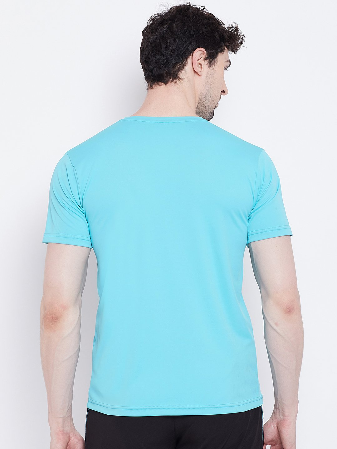 rn basic tee indian blue