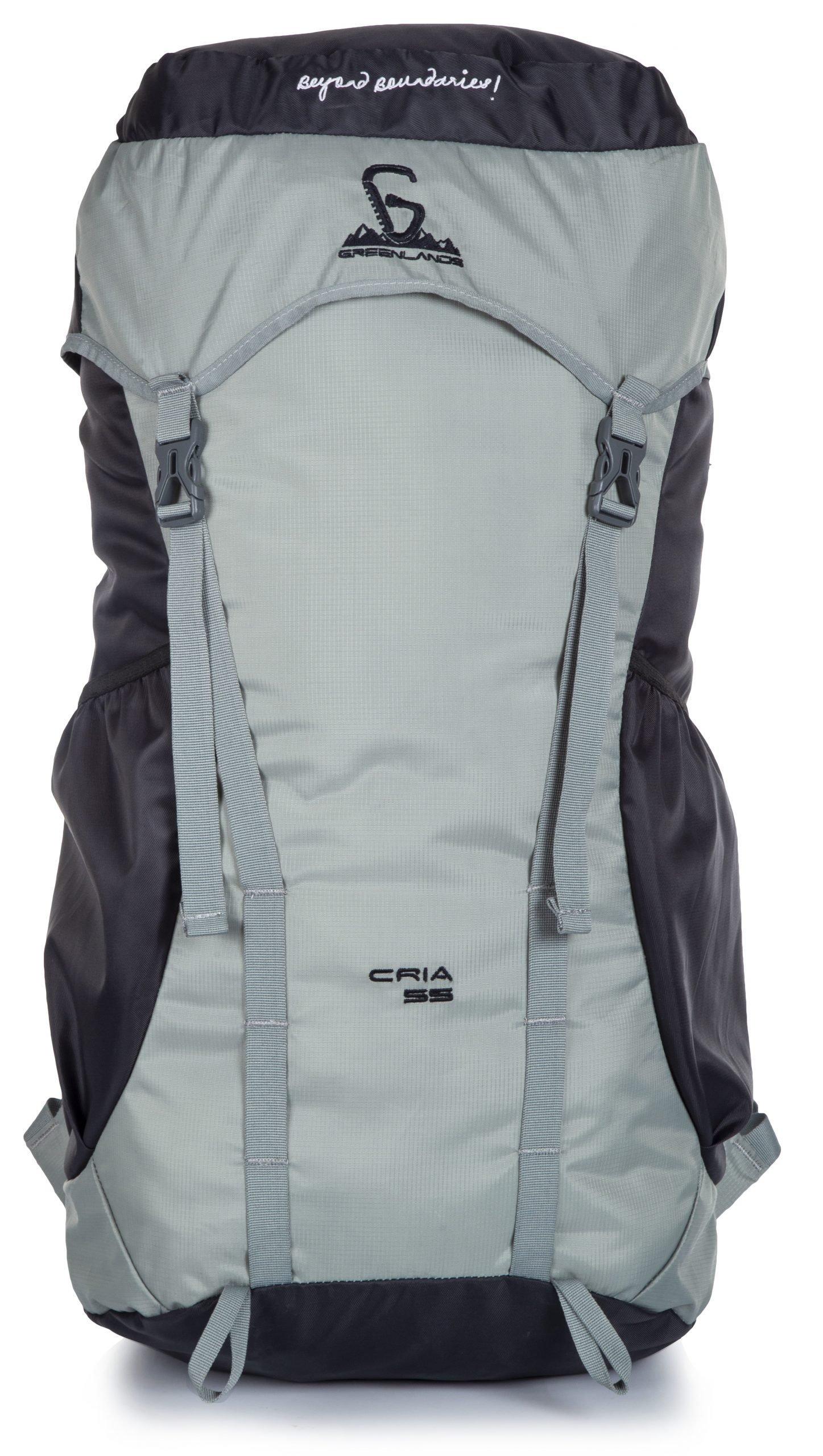 Greenlands Cria 55 grey rucksack